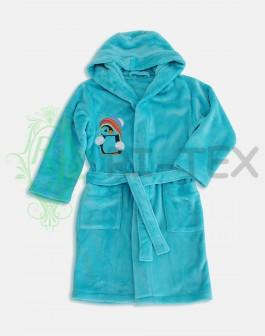 """Халат для хлопчиків та дівчаток """"Пінгвінчик"""" М-015 (7-16 років)"""