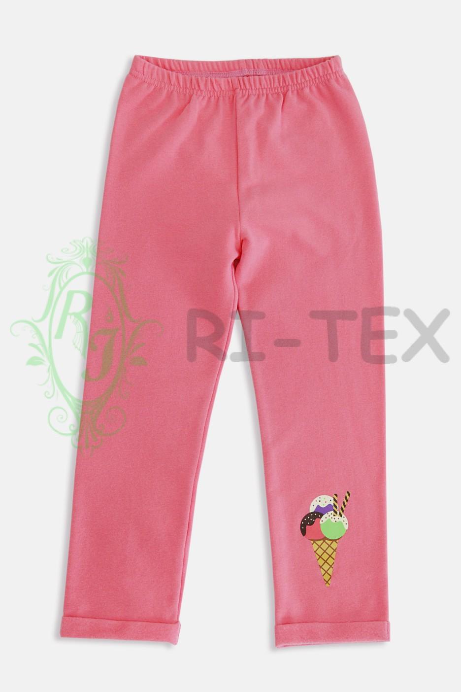 """Піжама для дівчаток """"Пінгвінчик з морозивом"""" М-017 (3-12 років)"""