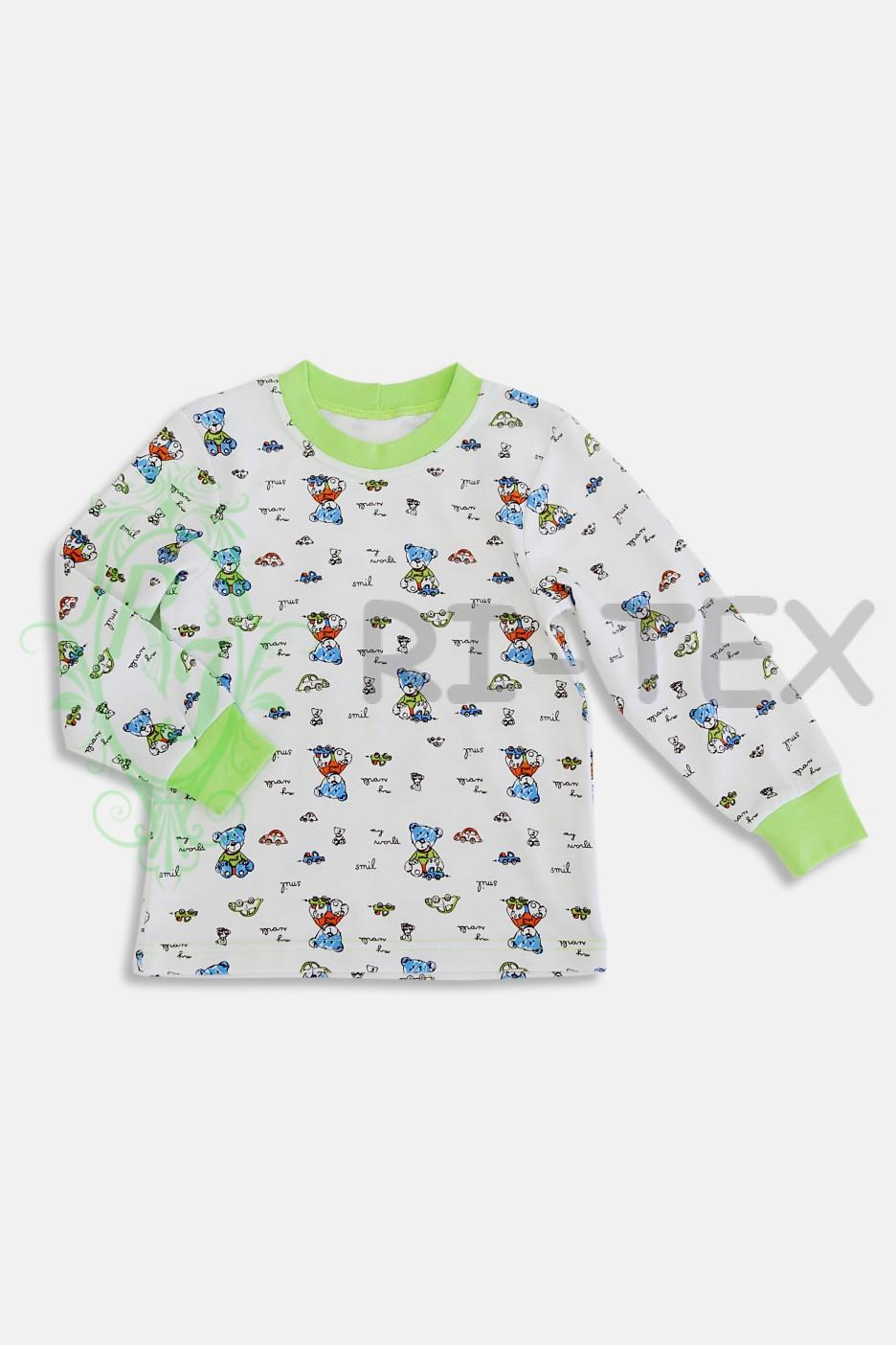 """Піжама для хлопчиків """"Ведмедики""""  М-018 (3-10 років)"""