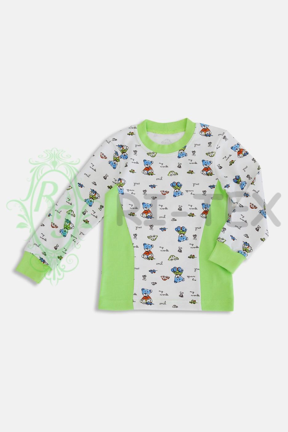 """Піжама для хлопчиків """"Ведмедики"""" М-022 (5-10 років)"""