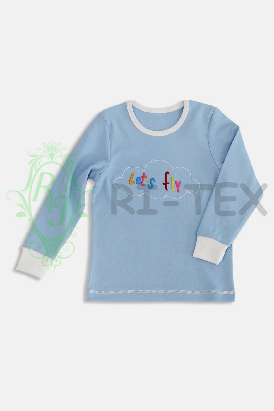 """Піжама для хлопчиків та дівчаток """"Повітряна куля"""" М-024 (3-10 років)"""