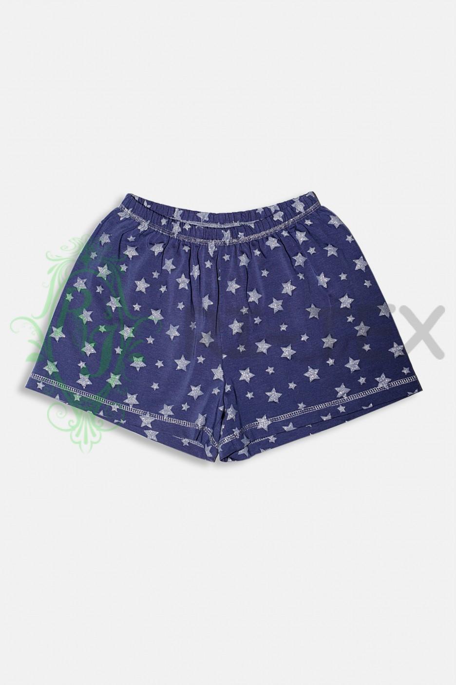 """Піжама для дівчаток """"Сріблясті зорі"""" М-027 (11-16 років)"""