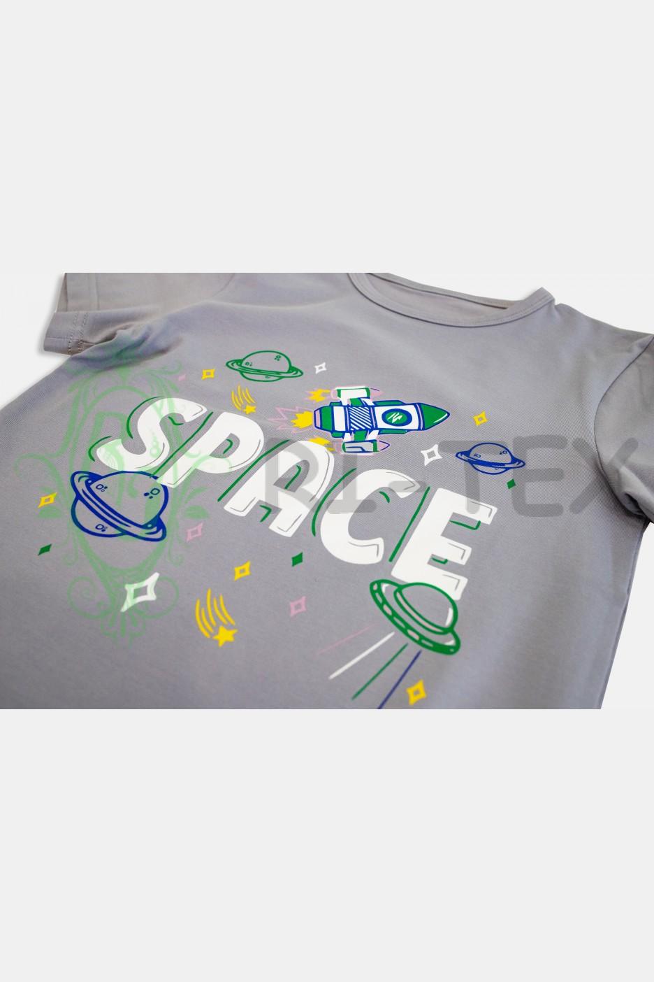 """Піжама для хлопчиків """"Космос"""" М-031 (9-16 років)"""