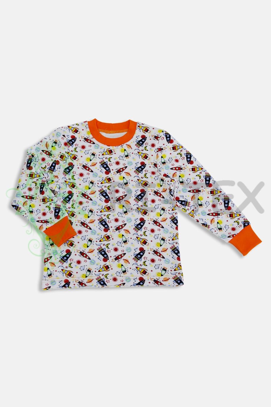 """Піжама для хлопчиків """"Ракети"""" М-034 (3-12 років)"""