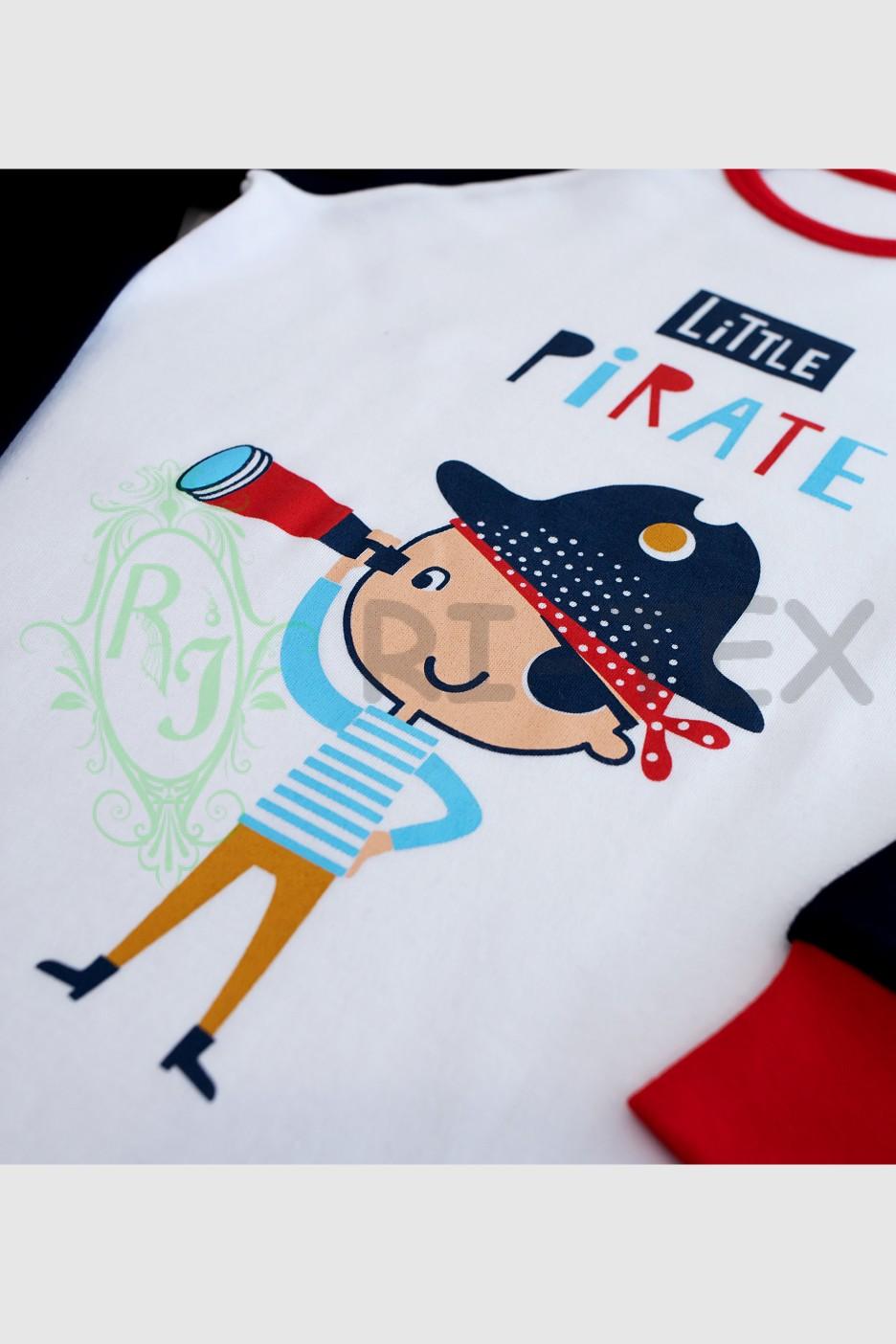 """Піжама для хлопчиків """"Пірат"""" М-048 (3-10 років)"""