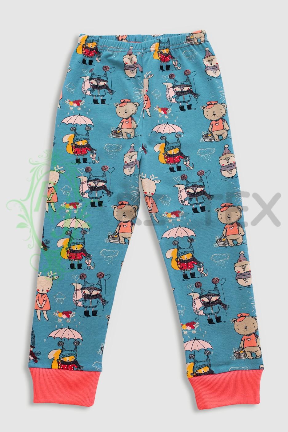 """Піжама для дівчаток """"Казкові герої"""" М-049.1 (3-12 років)"""