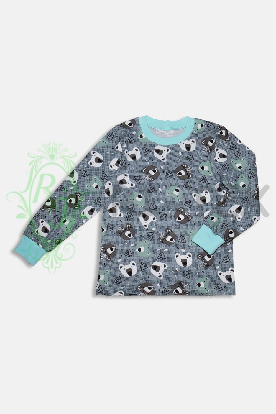 """Піжама для хлопчиків """"Ведмедики"""" М-038 (3-14 років)"""